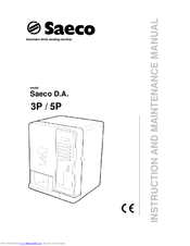saeco 3p instruction and maintenance manual pdf download rh manualslib com Aircraft MAINTEANCE Manuals Aircraft MAINTEANCE Manuals