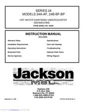 Jackson 24a af instruction manual pdf download fandeluxe Images