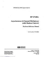HP 27140A Hardware Reference Manual