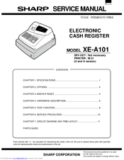 sharp xe a101 manuals rh manualslib com 2013 AIA Document A101 sharp xe-a101 operation manual