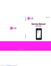 LG KF700 SERVICE MANUAL Pdf Download