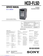 sony hcd fl5d manuals rh manualslib com Sony MHC Sony HCD Ec709ip