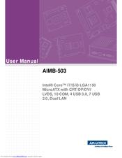 Advantech AIMB-503 Intel USB 3.0 Drivers for Windows 7