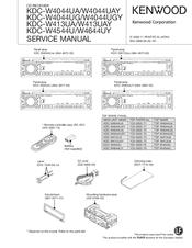 kenwood kdc w4044uay manuals rh manualslib com Kenwood KDC- 252U Kenwood Car Radio