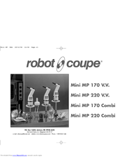 Robot Coupe Mini Mp 220 Combi Manuals
