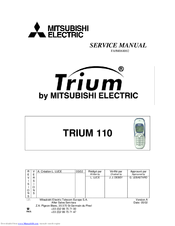 Mitsubishi Electric TRIUM 110 Service Manual
