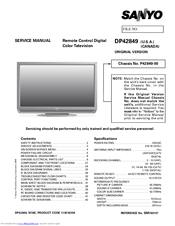 sanyo lcd tv repair manual online user manual u2022 rh pandadigital co sanyo led tv user manual sanyo user manual tv