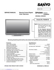 proscan 42 inch tv manual