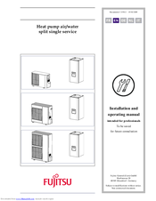 Fujitsu AOYA45LBTL Installation And Operating Manual