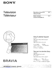 sony bravia tv remote control manual