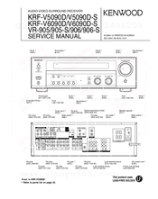 Kenwood VR-905 Service Manual