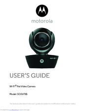 Motorola SCOUT85 User Manual