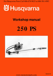 Husqvarna 250PS Workshop Manual