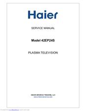 haier 42ep24s 42 plasma tv manuals rh manualslib com Haier Washing Machine Manual Haier Wine Cooler HVUE08ABS User Manual