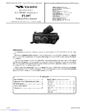 yaesu ft 897 manuals rh manualslib com Yaesu FT 847 Problems Yaesu FT 897 Problems