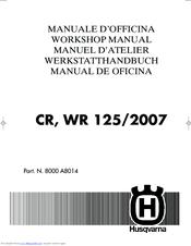 husqvarna wr 125 2007 manuals rh manualslib com Moto 125 2013 WR 125