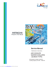 Hitachi RCUE40AG1-400AG1 Service Manual