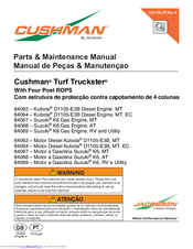cushman turf truckster parts manual