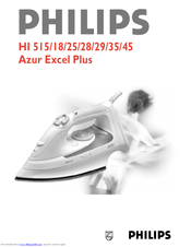 Philips excel plus 515 инструкция