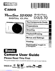 canon digital ixus 70 manuals rh manualslib com canon ixus 95 is service manual canon ixus 40 service manual