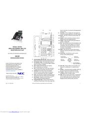 Nec Sv8100 user Manual Dt300