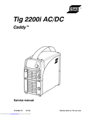 Cigweld transtig 200 ac/dc manuals.