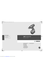Bosch Carephone 62 Original Instructions Manual