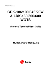 LG GDK-186 USER MANUAL Pdf Download
