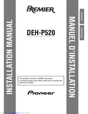 pioneer deh p5000ub installation manual