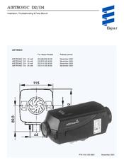espar airtronic d4 manuals espar airtronic d4 installation instructions manual