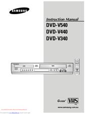 samsung dvd v540 manuals rh manualslib com Samsung TV Component Cable Samsung Refrigerator Repair Manual