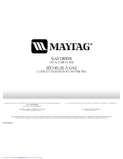 Maytag MGD5800TW Use And Care Manual
