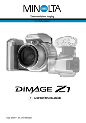 minolta dimage z1 manuals rh manualslib com minolta dimage z1 instruction manual