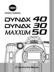 konica minolta maxxum 50 manuals rh manualslib com Minolta Maxxum GT minolta maxxum 50 review