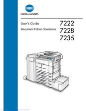 konica minolta 7222 manuals rh manualslib com  konica 7222 service manual