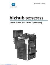 konica minolta bizhub 282 manuals rh manualslib com bizhub 283 manual bizhub 282 manual en español