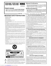 Ds-dac-100/100m/10 owner`s manual | manualzz. Com.