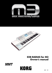 Korg EXB-RADIAS Owner's Manual