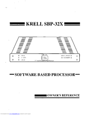 krell industries sbp 32x manuals rh manualslib com