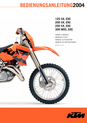 ktm 125 sx owner s manual pdf download rh manualslib com 2005 KTM 125 SX 2007 KTM 125 SX