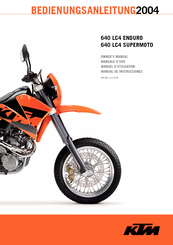ktm 640 lc4 owner s manual pdf download rh manualslib com ktm lc4 640 service manual pdf ktm lc4 640 service manual pdf