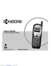 Kyocera 2100 Series User Manual