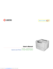 Kyocera Ecosys FS-6700 User Manual