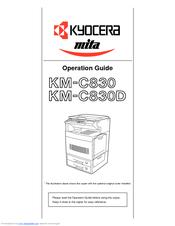 kyocera km c830 km c830d service repair manual
