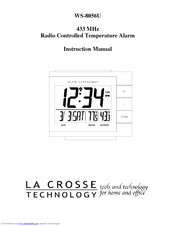 La Crosse Technology WS-8056U Instruction Manual