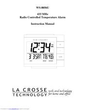 La Crosse Technology WS-8056U Instruction Manual