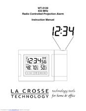 la crosse technology wt 5120 433 instruction manual pdf download rh manualslib com la crosse technology weather station user manual la crosse technology wireless thermometer user manual