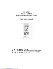 atech wireless weather station instruction manual