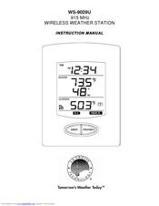 la crosse technology ws 9029u manuals rh manualslib com la crosse technology clock user manual la crosse technology wireless thermometer user manual