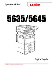 lanier 5635 operator s manual pdf download rh manualslib com lanier copier manual ld620c lanier copier manual mp3054